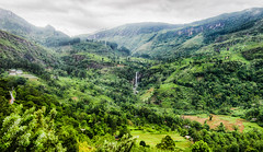 View from the mountains of Ceylon (PhotographyWren) Tags: travel mist mountain mountains fog clouds canon landscape photography waterfall asia tea srilanka ceylon phototherapy canon600d