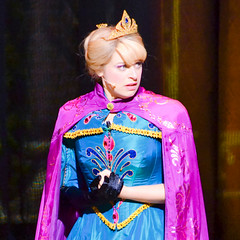 Elsa, Queen of Isolation (chipanddully) Tags: frozen disney dca elsa anthem californiaadventure letitgo hyperiontheater liveatthehyperion