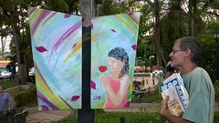 Flores en color (D11 Urbano) Tags: boy art girl poster stencil arte venezuela nios caracas urbano venezolano arteurbano hatillo d11 streetartvenezuela artvenezuela d11streetart arteurbanovenezuela d11art d11urbano