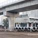 Addis Ababab Light Rail system under construction
