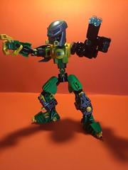 Kaon the Bounty Hunter (Toa Kaon) Tags: lego transformers bionicle toa moc minecraft
