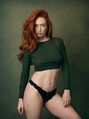 Jenny O (Ian_Boys) Tags: portrait beautiful flash strobist pixapro led100d