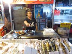 fishpoint (PJHarrison) Tags: street travel food singapore southeastasia market malaysia dining satay hawkers skewers