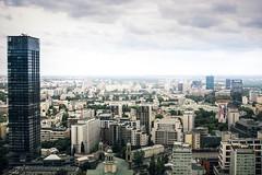 Warsaw View (ContraPixel) Tags: skyscraper scraper sky urban city platform view warsaw aussichtsplattform kulturpalast warschau