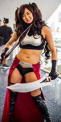 Archer Rin (Shadowgamer85) Tags: cosplay fatestaynight rintohsaka unlimitedbladeworks animeexpo2016