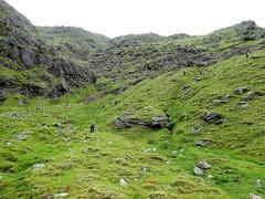 Eisc an Chuilleann, ridge to Cnoc an Chuillean on the right. -DSC06613 - (JJC2008) Tags: eisc chuillinn reeks kerry bishopstown bhc gully