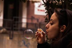(SalvoLag) Tags: portrait ritratto bolle sapone people soap bubble