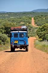 Exploring Parque Nacional de Cabañeros [Spain] (babakotoeu) Tags: car jeep offroad 4x4 toyota land series 40 landcruiser cruiser troopy bj40 40series bj45