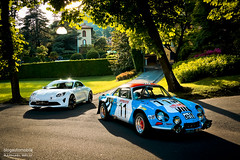 Alpine Renault A110 & Alpine Vision (Raphal Belly Photography) Tags: blue italy white lake como classic car de lago photography eos italia photographie lac renault bleu erba belly exotic vision alpine 7d villa di passion come este bianca blanche raphael bianco blanc rb supercar spotting collector bleue cernobbio supercars deste raphal concorso a110 eleganza deste deleganza