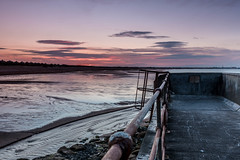 Seaton Sluice Sunset (Craig Richardson) Tags: sunset sea beach coast d750 northeast 2470mm seatonsluice