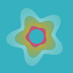 Image of the Day 2016/06/25 (funkyvector) Tags: iris graphics geometry friedegg trigonometry iotd