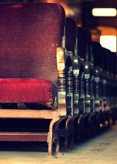 Plush. (Joseph Skompski) Tags: old railroad train vintage antique seat maryland trains baltimore velvet plush seats bo antiques oldfashioned railroadmuseum baltimoremd borailroadmuseum borailroad