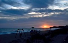 Tardes de calma (ZAP.M) Tags: espaa la andaluca nikon flickr playa cdiz ocaso chiclana nwn barrosa atarceder d5300 zapm mpazdelcerro