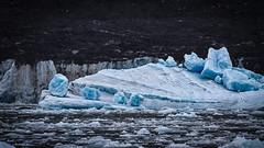 Iceberg and iceberglets (frostnip907) Tags: blue seascape ice nature alaska landscape marine glacier iceberg columbiaglacier
