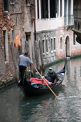 Venice, Italy (Crumblin Down) Tags: bridge venice red italy musician music food reflection clock water hat yellow shop mirror canal store italia mask pizza chrome ear gondola stick van gogh venezia gondolier selfie ferro forcola