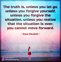 SpiritualCleansing.Org - Love, Wisdom, Inspirational Quotes & Images (SpiritualCleansing) Tags: truth over advice inspirational situation understanding realize forgive letgo lettinggo movingon forgiveyourself moveforward stevemaraboli