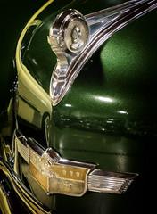 1949 DeSoto Carryall Sedan with reflection of 49 Cadillac (allentimothy1947) Tags: california automobile places sacramento trailer sleepers pedalcars californiaautomobilemuseumantiques