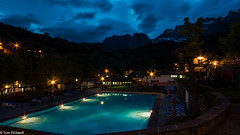 Pool and mountains (tompickwellphotography) Tags: mountains night spain picos picosdeeuropa sanpelayo