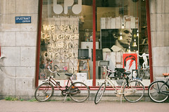Amsterdam, Netherlands (Thierry Jaspart / Andalltha) Tags: travel david bike shop vintage photography bowie europe artist minolta heroes dynax thierry esoteric andalltha jaspart