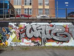 Hatanp fame (Thomas_Chrome) Tags: street streetart art suomi finland graffiti europe gallery fame can spray chrome nordic walls tampere hof hatanp