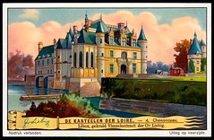 Liebig Tradecard S1272 - Chteau de Chenonceau (cigcardpix) Tags: tradecards advertising ephemera vintage liebig architecture french