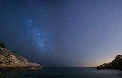 Milky Way II (canonixus1) Tags: cala milkyway canon1740 vialactea canon6d tioximo calabenidorm canonixus1