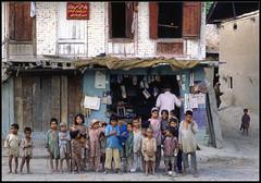 Village Children (ioensis) Tags: girls india boys june children village 1984 srinagar kashmiri jdl ioensis india3111bjohnlangholz2016