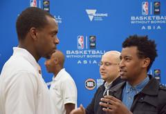 BWB_KM_NBA_2 (Visit Victoria) Tags: david basketball spurs utah san dante jerry detroit jazz australia melbourne milwaukee antonio patty mills pistons nba bucks robinson exum nbl stackhouse