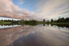reflecting on the floods (Lee Woodcraft) Tags: reflection nikon flood essex boreham d7200