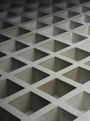 Cube-art (ainulislam) Tags: shadow urban white black architecture lights urbanart cube