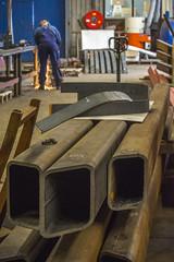 Kokker liggers (G. Warrink) Tags: architecture construction industrial steel welding engineering watchtower appelscha bosberg heuvelmanibis