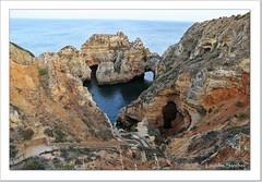 Ponta da Piedade - El Algarve - Portugal (Lourdes S.C.) Tags: costa portugal mar rocas acantilados pontadapiedade elalgarve