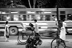 the night bus (Bilihut) Tags: inde indianstreetlife sonya7 blackandwhite rue bus people tamilnadu tiruvanamalai streetlife photo street photoderue night life monochrome india
