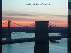Landed at Alysha's place. (psvijay) Tags: place landed alyshas