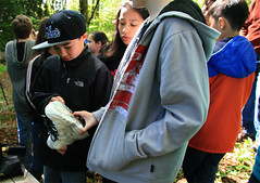 Signing Boots for Sen. Murray (wildliferecreation) Tags: washington urbanforest bothell northcreekforest