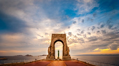 Marseille, France (Mishal Almesfer) Tags: sunset france color colour colors sunrise lens landscape landscapes marseille amazon nikon colorful 4 tripod extreme pro kuwait wacom afs sandisk q8 dx lightroom 580 intuos slik mishal  d90  f3545  adorama   1024mm  almesfer