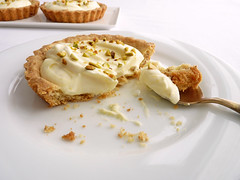 Lemon Mousse Tartlets (pastrystudio) Tags: dessert lemon almonds pastry tarts mousse tartlets