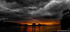mordor... (Philipp Endemann) Tags: sunset panorama cloud water weather canon river germany landscape bayern eos is mood post cloudy main dramatic wideangle 7d doom l production strong editing usm f4 segeln aschaffenburg unterfranken kleinostheim 24105mm interessting segelclub bavariannice