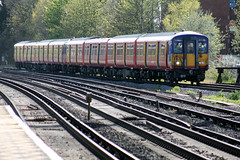 IMG_5896 (Colin.P.Brooks Railway Photography & Frinton) Tags: surbiton emu southwesttrains swt electricmultipleunit class455 monday29thapril2013