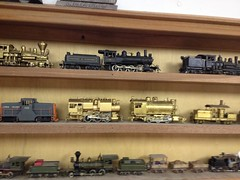 Part of My HO Scale Brass Steam & Diesel Collection (bslook1213) Tags: cars united ktm mining collection shay westside ho brass locomotives tms climax lmb kmt hon3