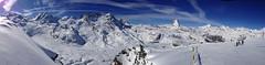 Panorama near the Gornergratt (zatixjo) Tags: panorama snow ski landscape switzerland suisse glacier neige zermatt matterhorn paysage cervin gornergletscher