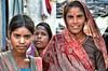 Women and smiles (L▲iv ©) Tags: travel red people india colors gardens 1 photo interestingness nikon gallery colours tag1 indian geographic ganga khajuraho madhyapradesh 2013 laiv hinduist laivphoto hindù chhatarpurdistrict uploaded:by=flickrmobile flickriosapp:filter=nofilter
