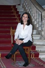 Ángela de la Llana Campos (Cani Mancebo) Tags: portrait españa spain retrato murcia cartagena palacioconsistorial canimancebo escalerareal ángeladelallana