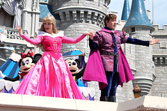 Dream Along With Mickey (disneylori) Tags: princess prince disney disneyworld aurora characters wdw waltdisneyworld sleepingbeauty magickingdom disneyprincess disneycharacters princephillip dreamalongwithmickey facecharacters sleepingbeautycharacters