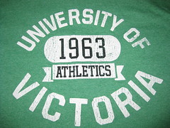 University of Victoria (trilliumgirl) Tags: green athletics university tshirt victoria uvic tee 1963