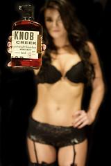 Whitney | Knob Creek | IMG_9958 (StewDa) Tags: woman black hot sexy garter girl panties female night creek canon belt model lace 14 bra tan whiskey lingerie liquor alcohol whitney 7d attractive l late knob bourbon 35 35l stewda