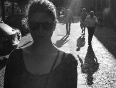 grumpy [analog] (__J) Tags: blackandwhite bw berlin film silhouette analog canon kreuzberg 50mm shadows serious kodak iso400 ernst scan scanned sw a1 analogue canona1 kodakbw400cn grumpy schatten canonfd50mm18 canonfd schwarzweis bergmannstrase