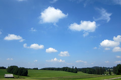 Cumulus humilis (andreas.christen) Tags: cloud switzerland afternoon cumulushumilis lahoux