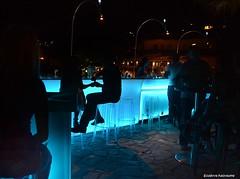 Bars (Eleanna Kounoupa) Tags: lighting blue colors greece crete rethymnon