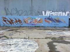 Rashe, Jaw & Slicer...South Melbourne... (colourourcity) Tags: streetart art abandoned graffiti freestyle panel awesome letters melbourne urbanexploration graff dope aerosol burner dmv ux awol urbex offthehook slicer abando melbournegraffiti melbournestreetart streetartmelbourne jawone graffitimelbourne awolcrew rashe damentalvaporz burncity flickrandroidapp:filter=none colourourcity